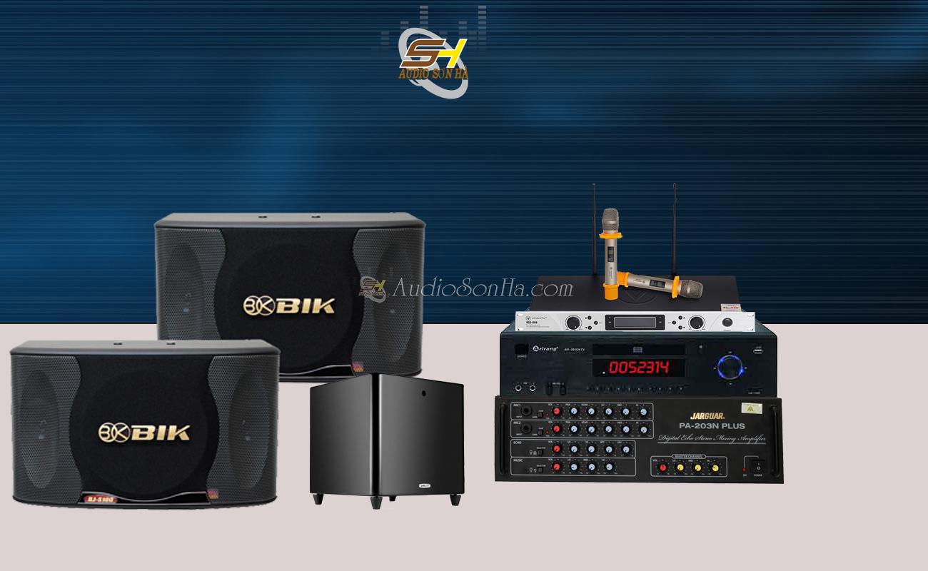 Dàn Karaoke Gia Đình Loa BIK BJ S100 vs AMPLY JARGUAR PA-203N PLUS (Set 17 )