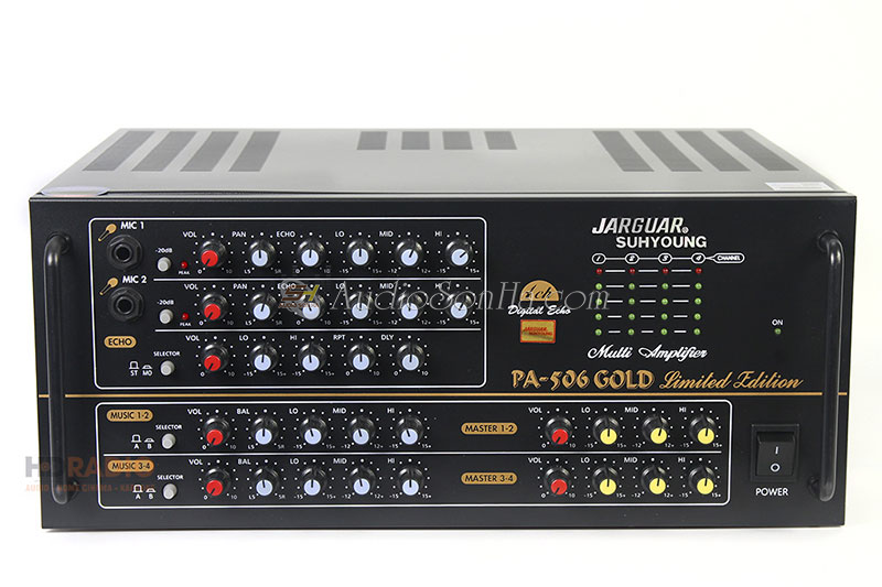 Jarguar Suhyoung PA-506 Gold Limited Edition (Komi)