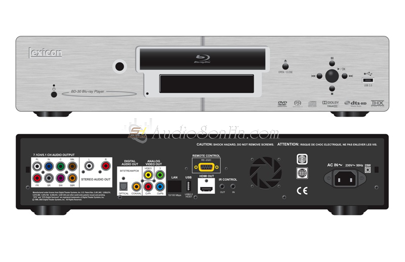 Lexicon BD-30 Bluray Player