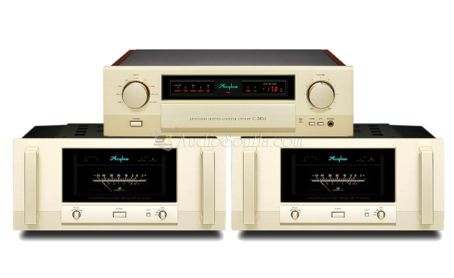 Accuphase Power monoblock M6000& preamplifier C2450