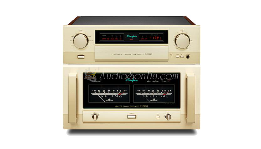 Accuphase Power P7300 & preamplifier C2450
