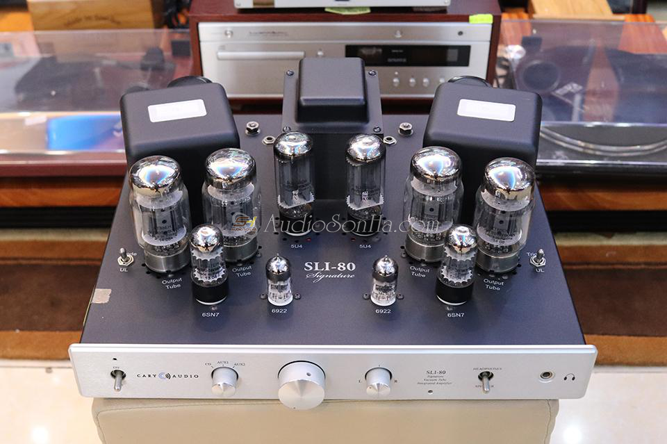 Amply Cary Audio Sli-80