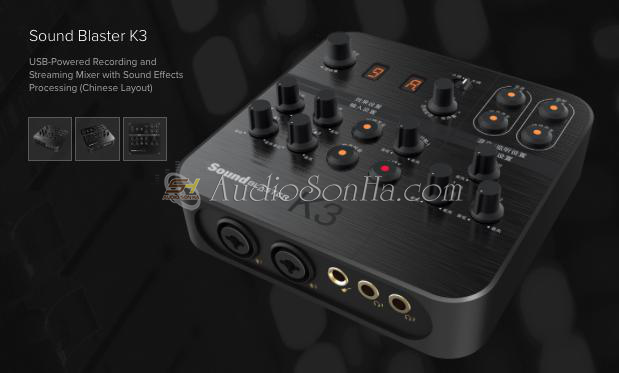 Creative Sound Blaster K3 Mixer Digital