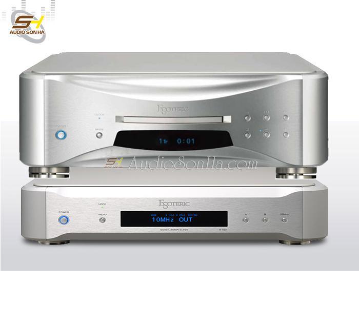 Đầu super audio CD Esoteric Grandioso K1 / Master Clock G02
