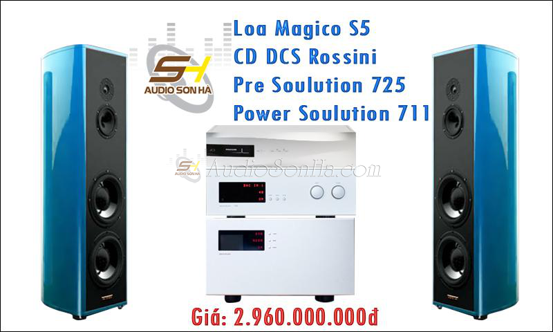 Hệ thống Hi-End Magico & Soulution 1