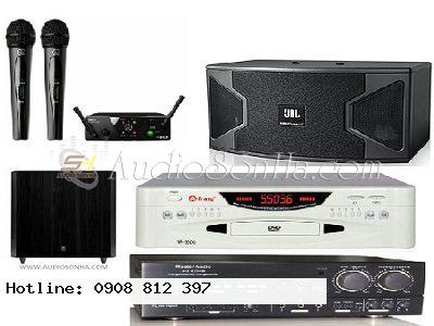 Hệ thống Karaoke 3 (Loa JBL KS-308)