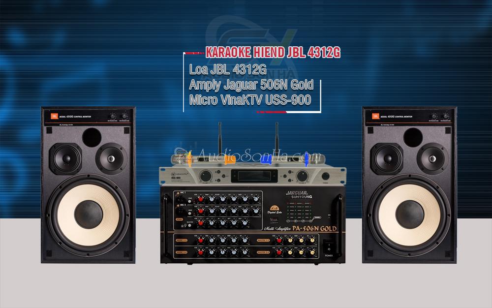 Hệ thống Karaoke Hi End JBL 4312G & Jaguar 506N Gold