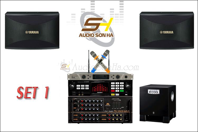 Hệ thống Karaoke 5 (Loa Yamaha KMS-910 )
