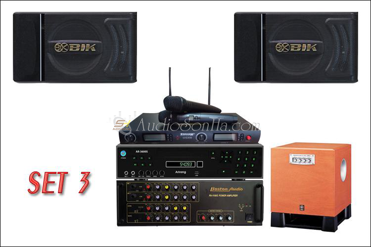Hệ thống Karaoke (Set 3)