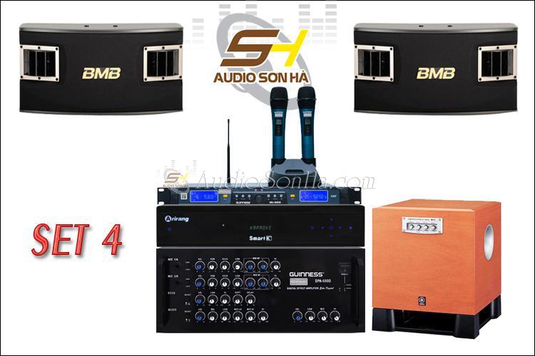 Hệ thống Karaoke (Set 4)