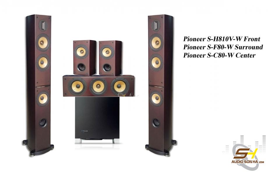 Hệ thống loa xem phim 5.1 Pioneer S-H810V