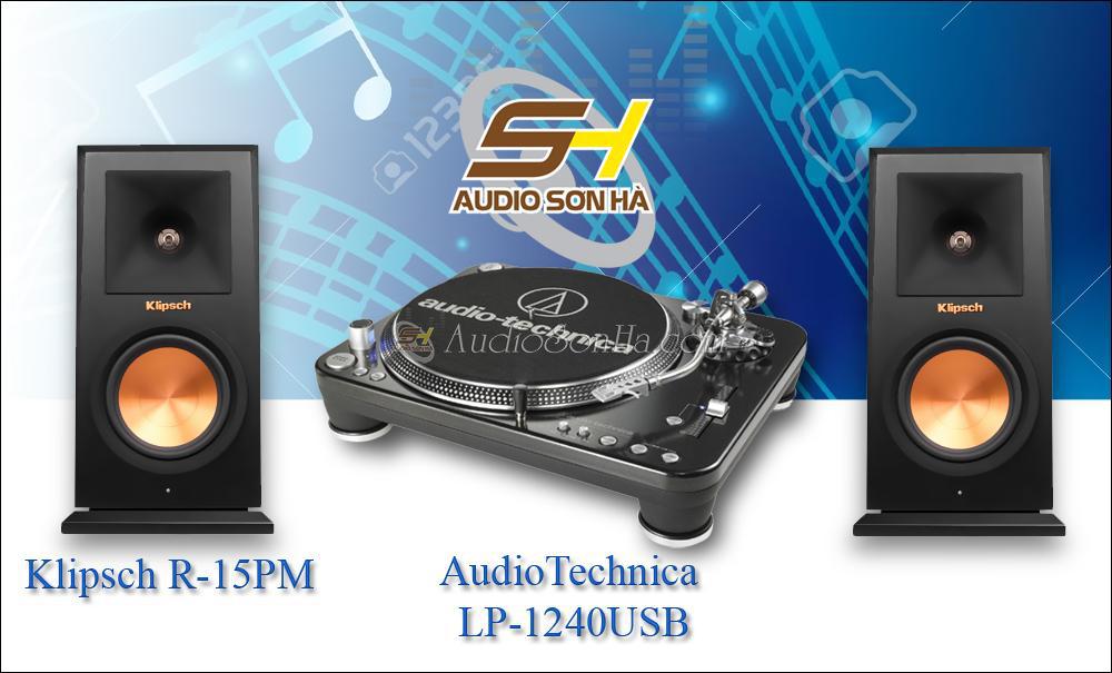 Hệ thống nghe nhạc đĩa than Audio Technica