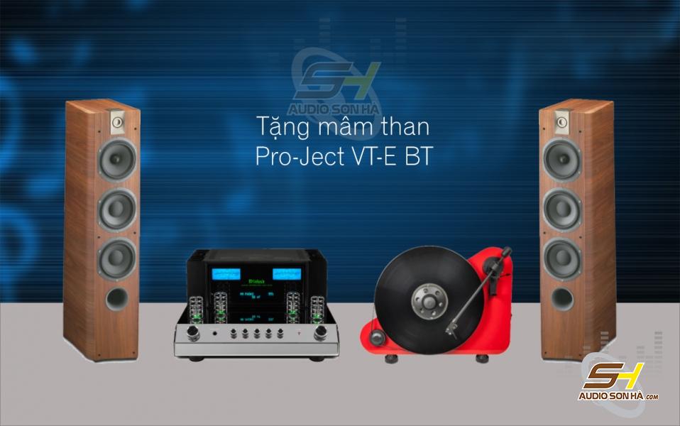 Hệ thống nghe nhạc Focal 726 & McIntosh MA-352