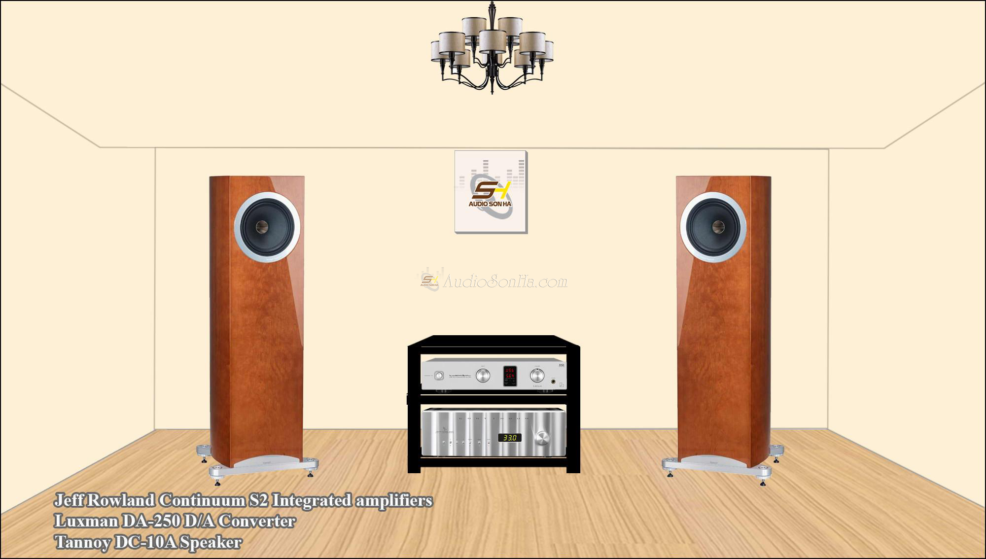 Hệ thống nghe nhạc Jeff Rowland + Tannoy