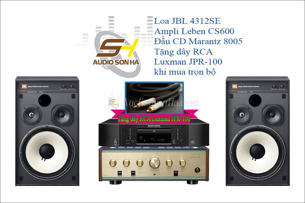 Hệ thống nghe nhạc Leben & JBL