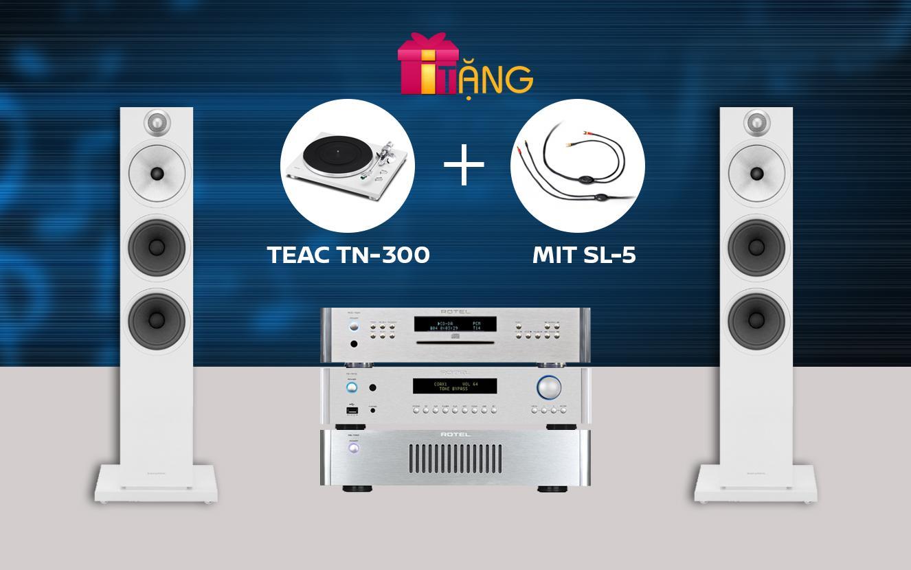 Hệ thống nghe nhạc Rotel + B&W (SH-001SPC)