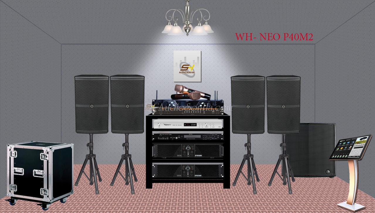 Hệ Thống Karaoke Hi - End WH -NEO.P 40M2