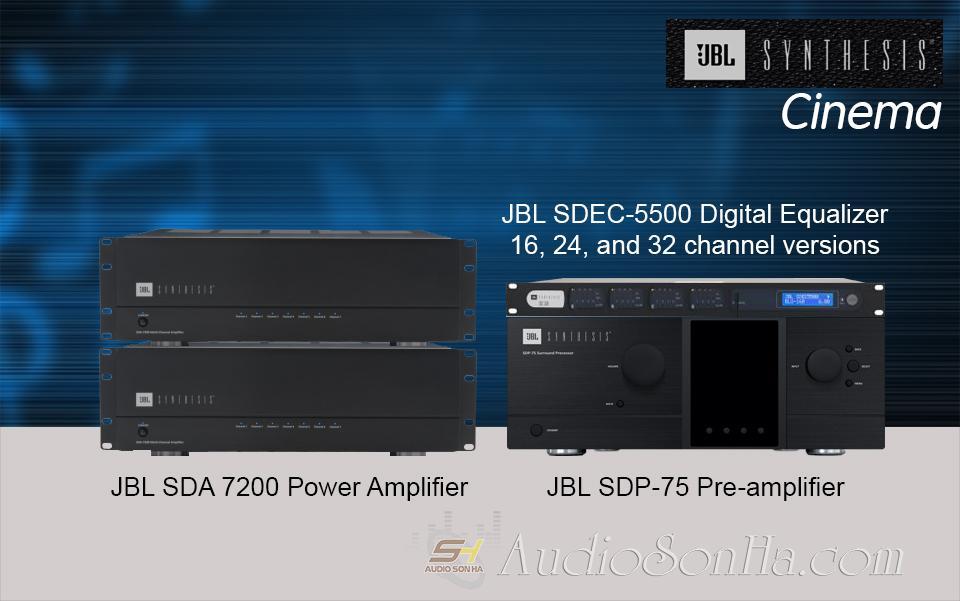 Hệ thống Pre Power phòng phim Hi End JBL