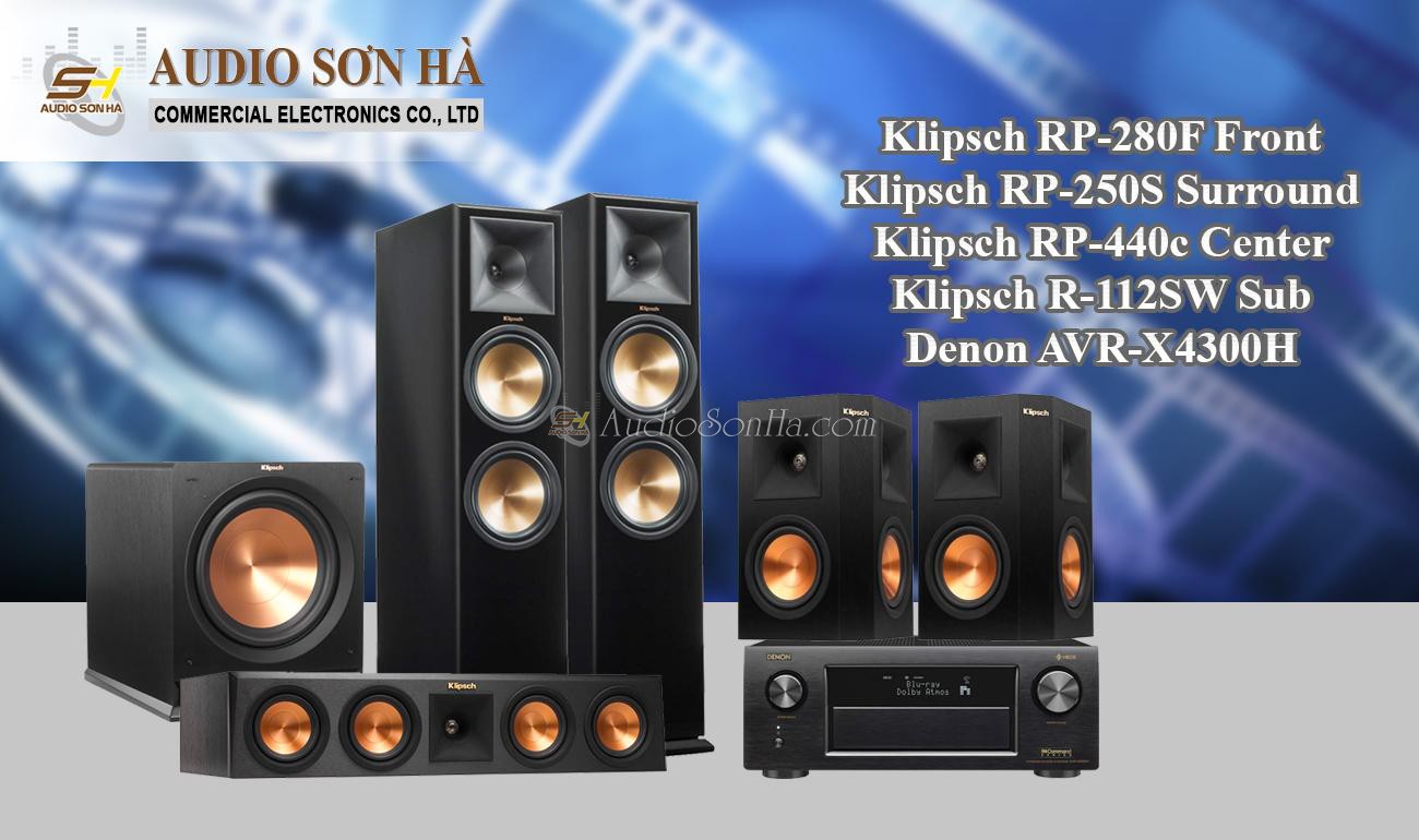 Hệ thống xem phim Klipsch RP-280F