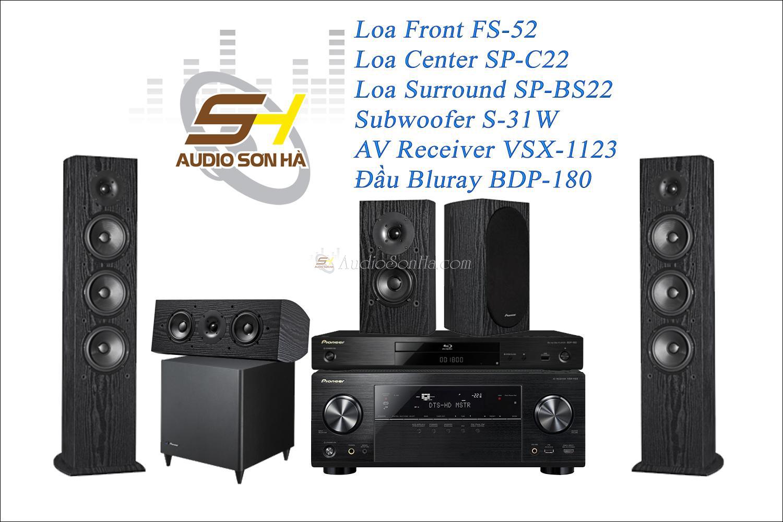 Hệ thống xem phim Pioneer FS52