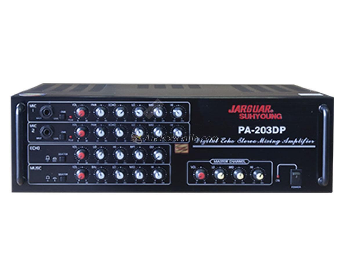 Jarguar PA-203 DP Amply Karaoke (Komi)