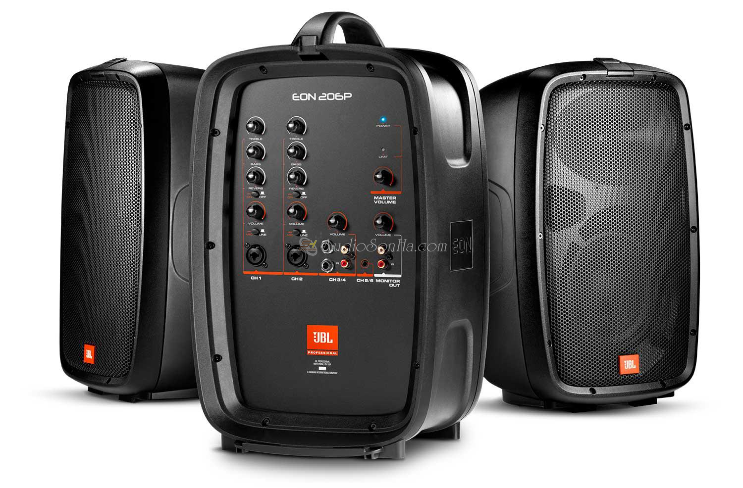 JBL EON206P Portable Two-Way system (Bộ)