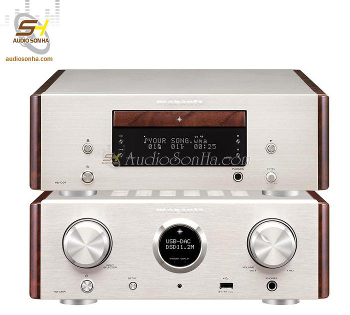 Marantz HD-CD1 & HD-AMP1