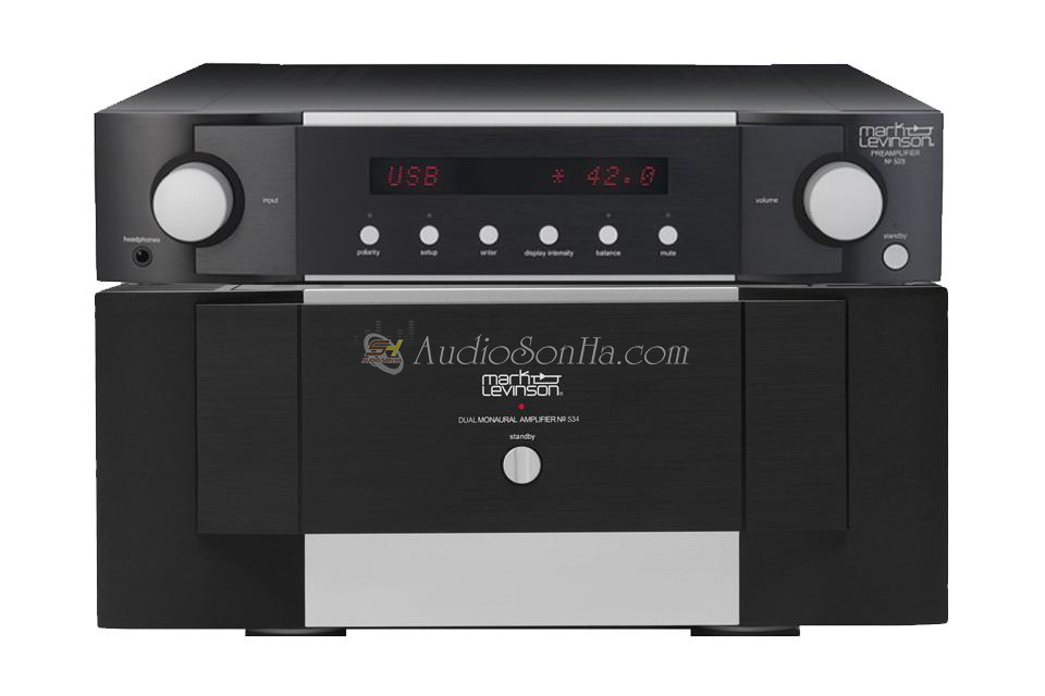 Mark Levinson No.534 & No.523 Pre Power