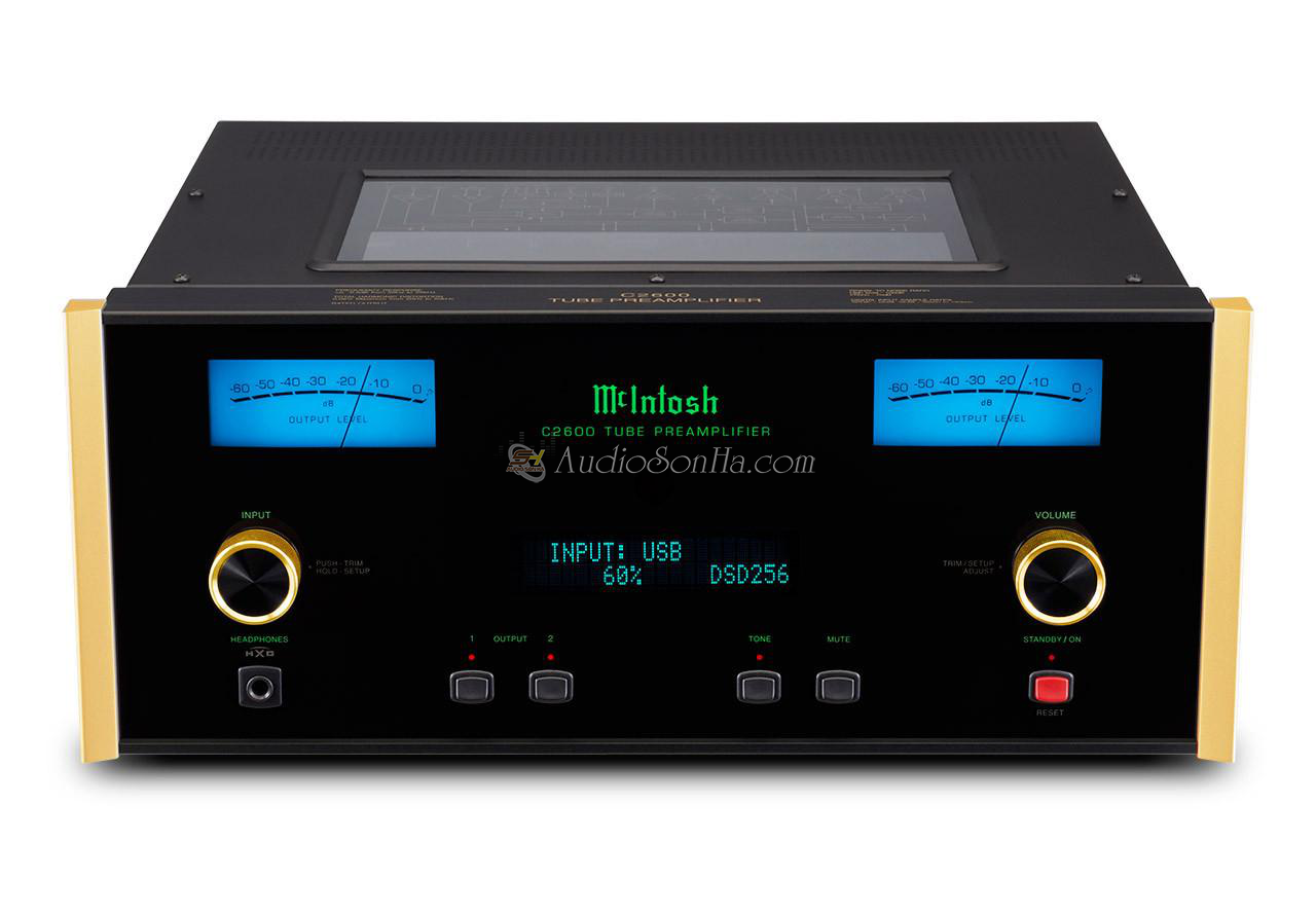 McIntosh C-2600 SE Gold Pre amplifier