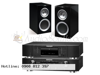 Hệ thống nghe nhạc Kef + Marantz