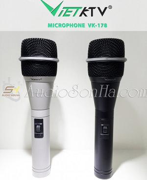 Micro có dây VietKTV VK-178