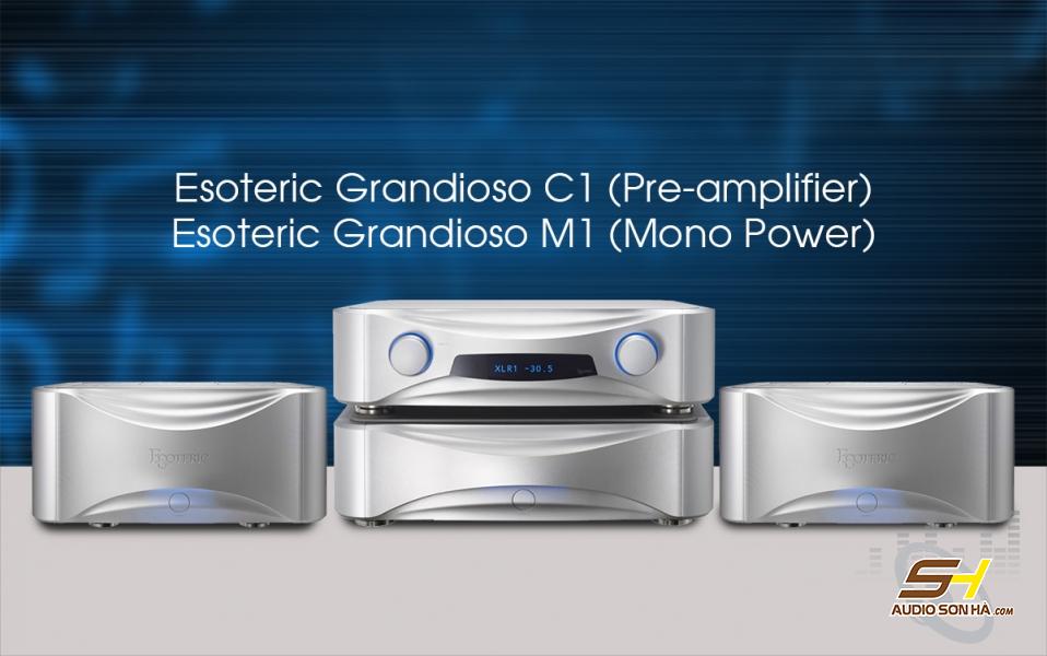 Pre Power Esoteric Grandioso C1 & Grandioso M1