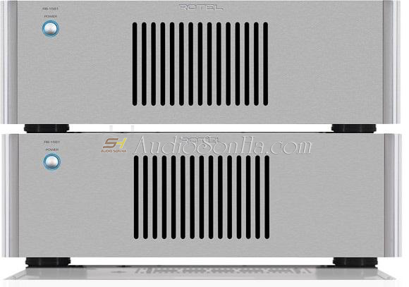 Rotel RB-1581 Mono Power Amplifier (x2)