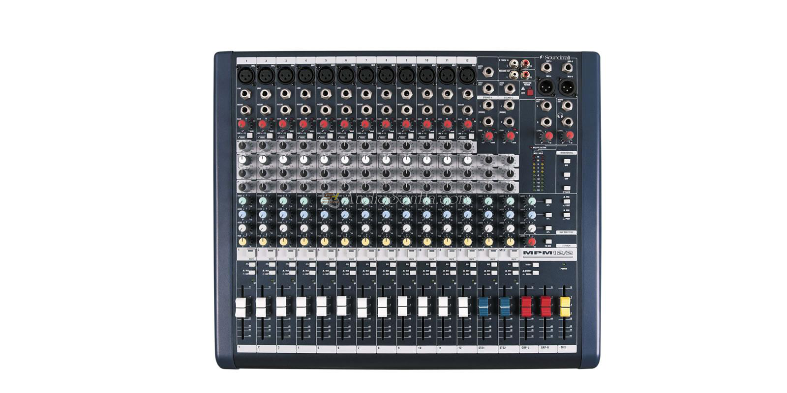 Soundcraft MPMi 12 Analog Mixer